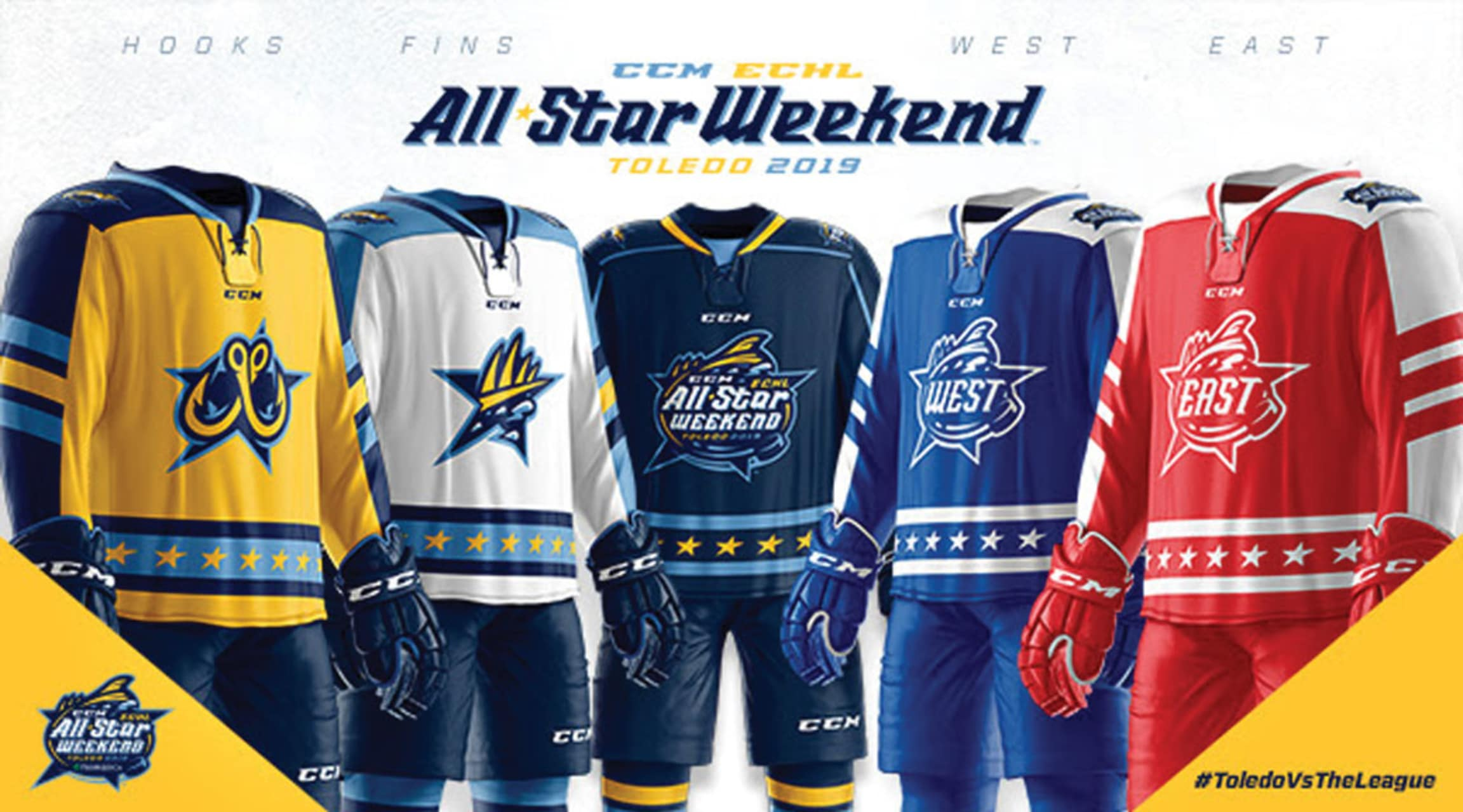 c304c22162e Jerseys unveiled for 2019 CCM/ECHL All-Star Classic
