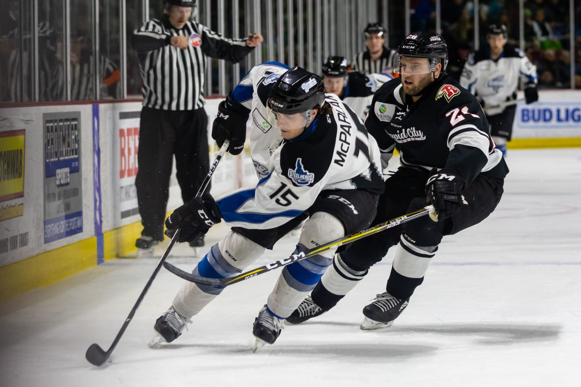 Rush Battle To 5 3 Win In Series Shift To Boise