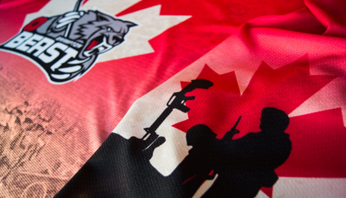 Limited Number of Beast Remembrance Day Jerseys Now Available on eBay fca737e425f