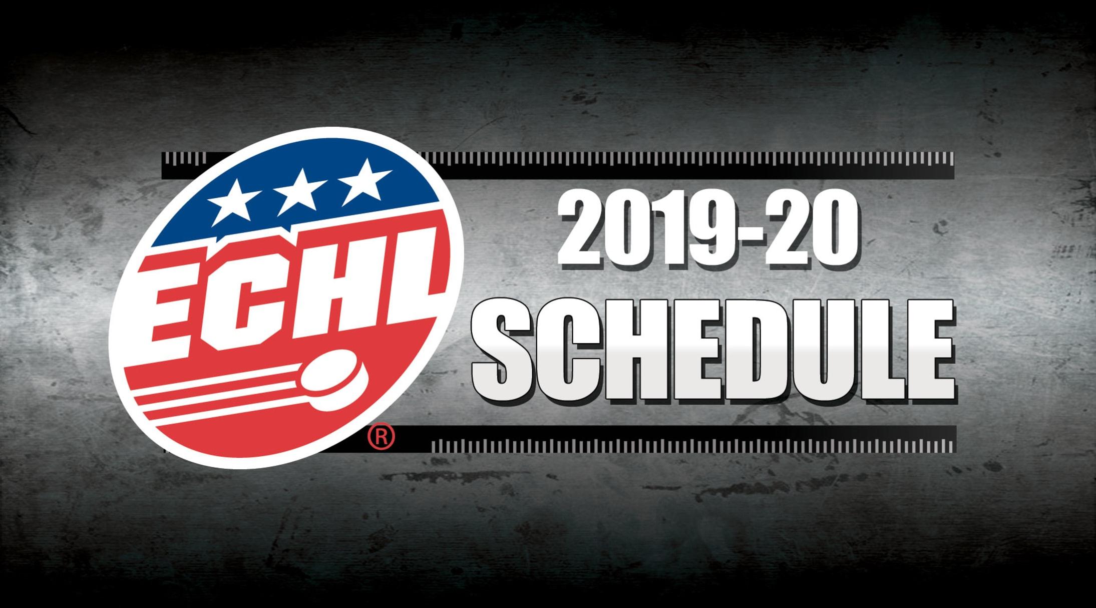Echl Releases 2019 20 Schedule