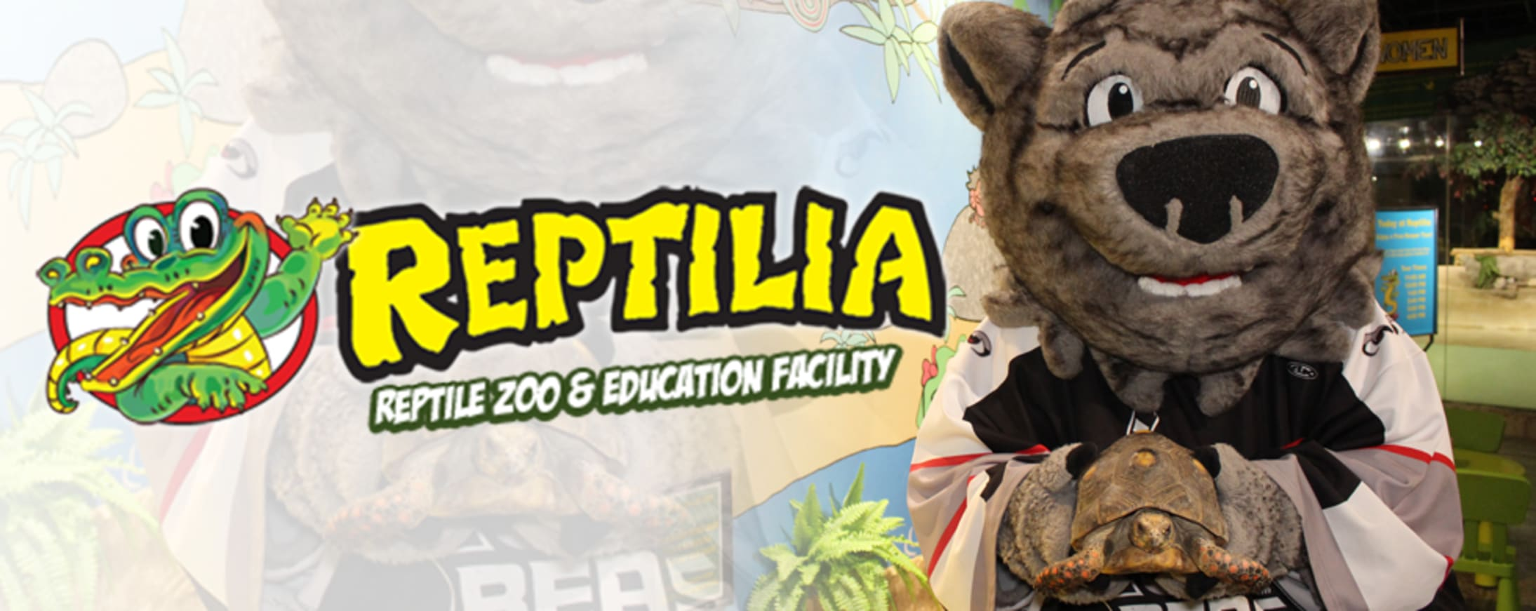 See the Reptiles of Reptilia this Sunday at the Powerade Centre!