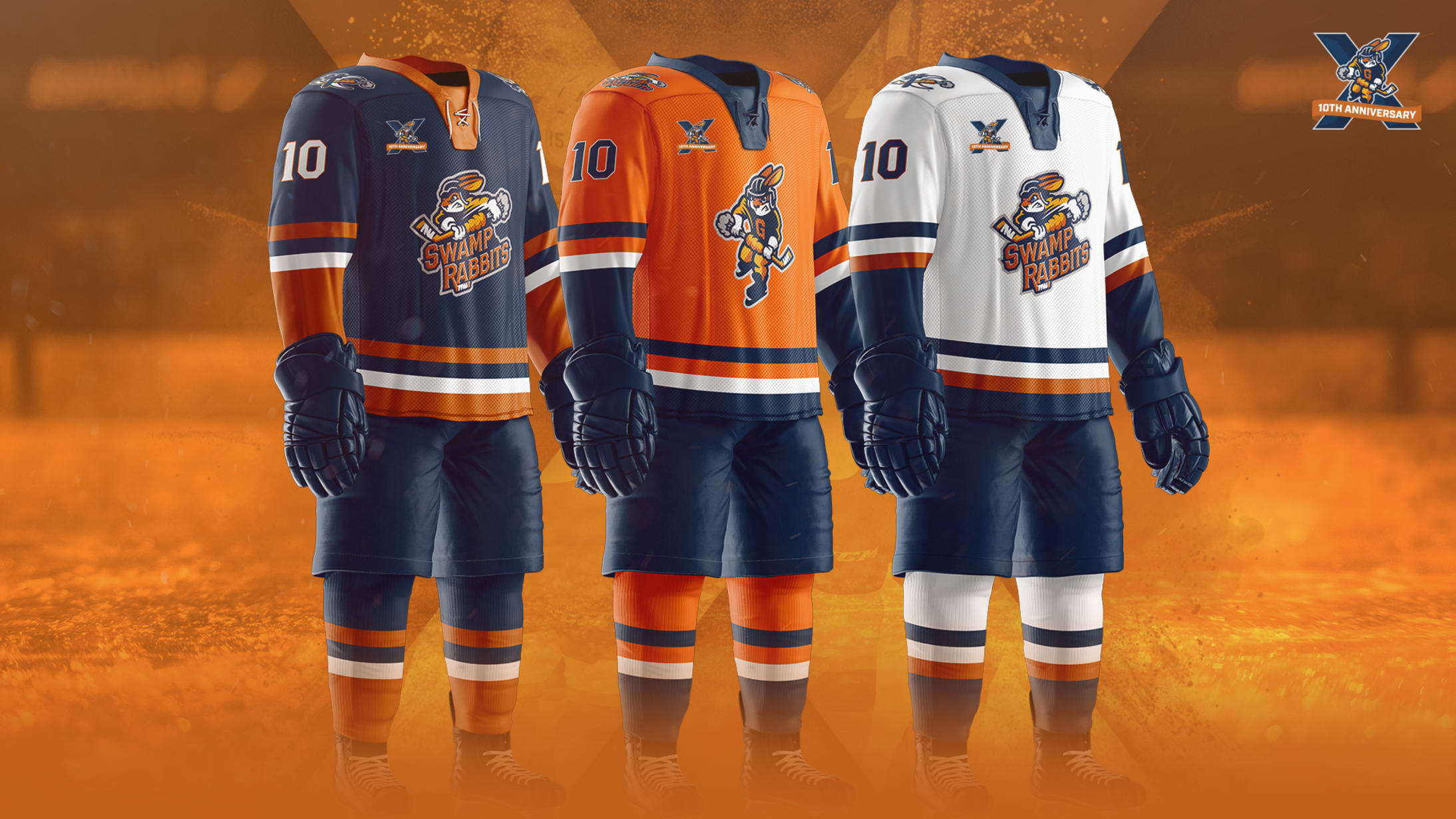 96410170 The new jersey set showcases a clean, professional look that will usher in  a new era of Swamp Rabbits hockey, focused on a renewed tradition of  excellence ...