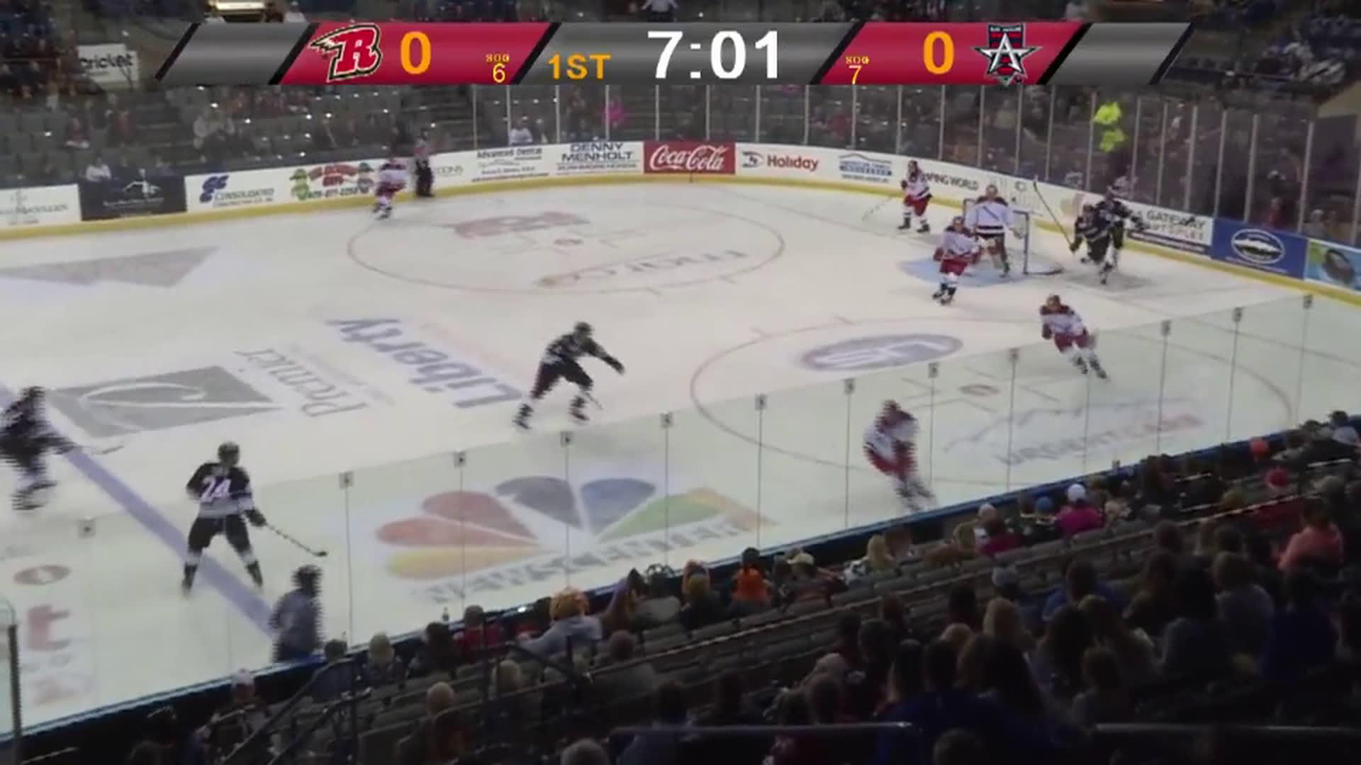 Highlights - Allen Americans vs. Rapid City Rush - Oct. 26 1a44adff2