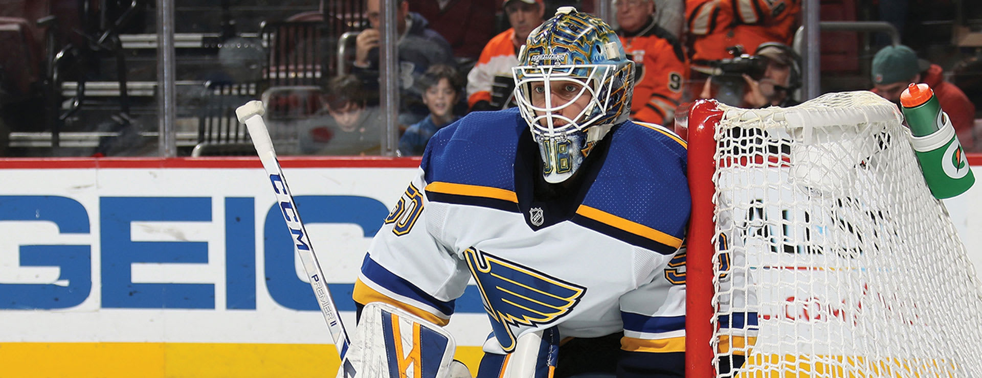2ed2087ae Binnington is The MeiGray Group ECHL Alumnus of the Month
