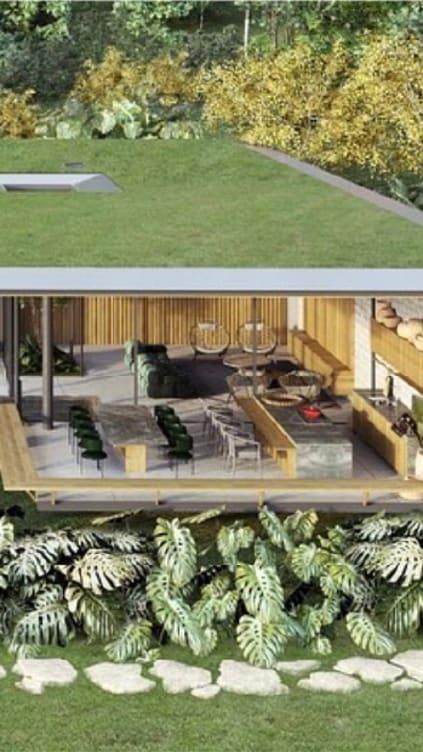 Imagem sobre Telhado Verde