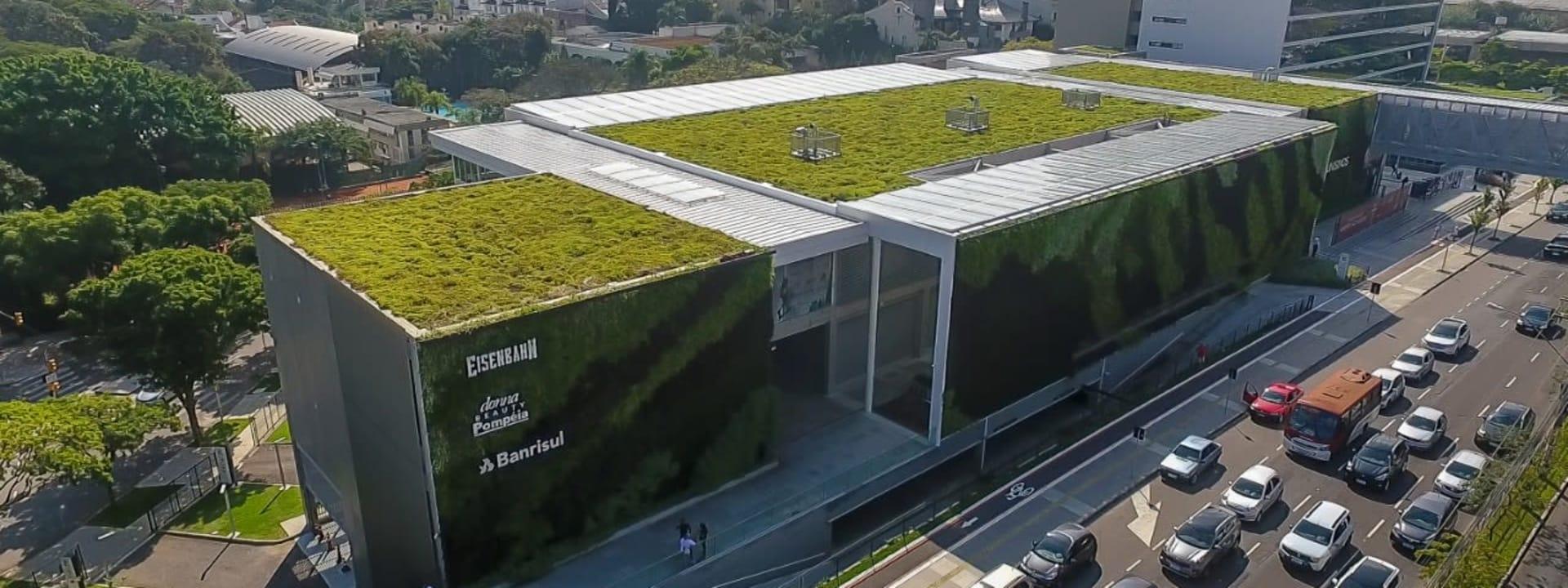 Design Biofílico Ecotelhado: A biofilia aliada à arquitetura