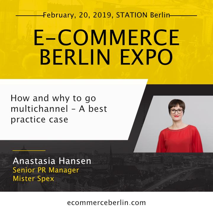 a3c1988e69 Anastasia is one of the speakers during E-commerce Berlin Expo 2019. If you  want to see his presentation live