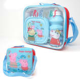 3pcs Lunch Set Peppa Pig
