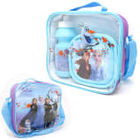 3pce Lunch Bag Set Disney Frozen 11