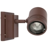 Sevas 50W GU10 Single Rusty Brown Wall Light