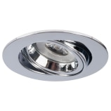 Low Voltage 35mm Twist & Lock Tiltable Mini Downlight Chrome