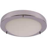 Veneto 22W T5 IP44 Ceiling Light Chrome