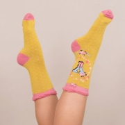 Letter Y Ankle Socks