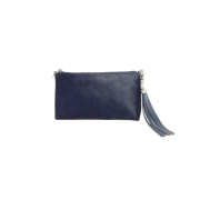 FORGET-ME-NOT Clutch - Navy Blue Furry