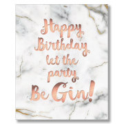 Let The Party Be Gin (HB)