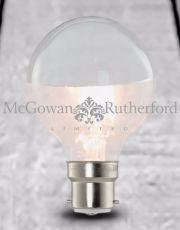 LED 3w Large Filament Bulb with Silver Crown (B22)