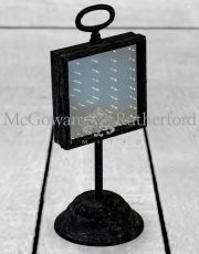 Antiqued Iron Infinity LED Table Mirror (USB Rechargeable)