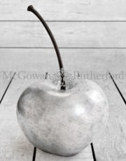 Extra Large Silver Leaf Cherry Table Decor