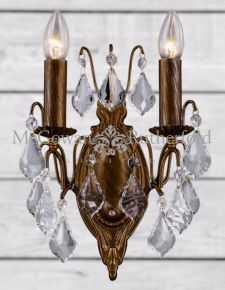 Brushed Gold French Sconce