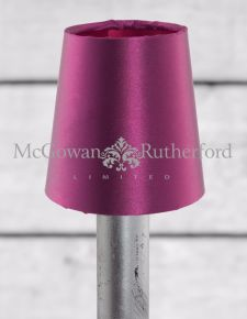 Purple with Burgundy Inner Shade for Chandelier/Sconce