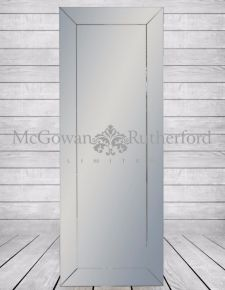 Tall Venetian Full Length Mitre Mirror