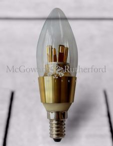 Dimmable Small Edison Gold 4.5W LED Candle Bulb