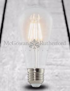 LED 6w Squirrel Cage Filament Bulb (E27)