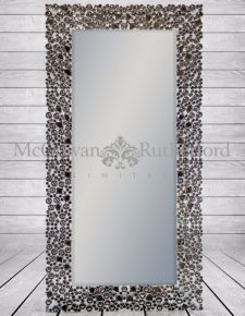 "Tall ""Glitz"" Venetian Wall Mirror"