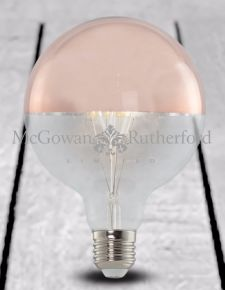 LED 3w Globe Retro Filament Bulb with Copper Crown (E27 Large Edison Screw)