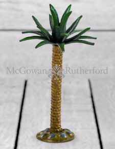 Cast Iron Large Palm Tree Candlestick