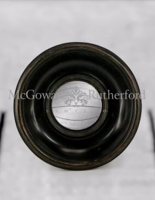 Black Deep Framed Extra Small Convex Mirror
