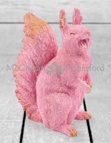 Pink with Gold Details Laughing Squirrel
