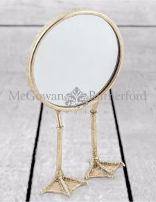 Silver Bird Legged Table Mirror