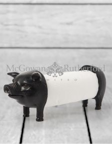 Pig Kitchen Paper Holder