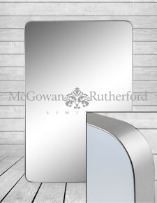*Carton of 4* Large Rectangular Silver Framed Arden Wall Mirrors