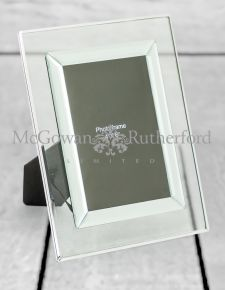 "Glass 4x6"" Photo Frame"