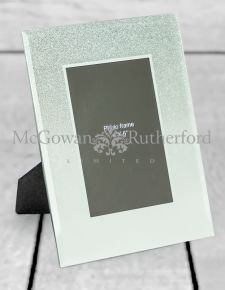 "Mirrored Sparkle 4x6"" Photo Frame"