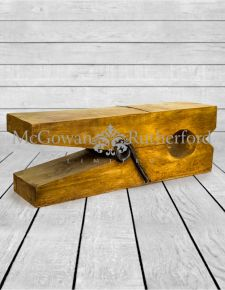 Giant Wooden Effect Clothes Peg Table/Stool