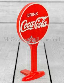 Cast Iron Antiqued Cola Door Stop