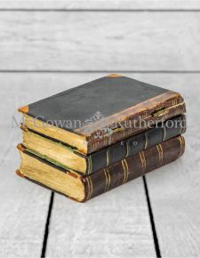 Antiqued 3 Book Small Storage Box