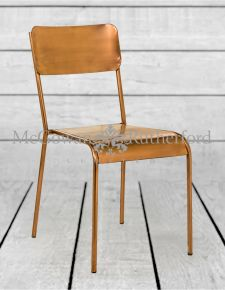 Rustic Copper Dining Chair
