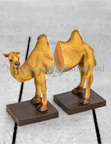Camel Bookends on Base