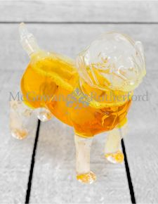 Puppy Glass Drinks Decanter