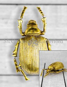 Large Gold Beetle Wall Decor (to be bought in qtys of 2)
