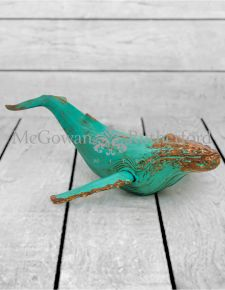 Extra Large Rustic Whale Figure