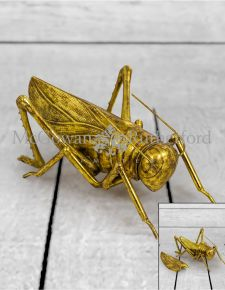 Gold Extra Large Grasshopper Storage Box