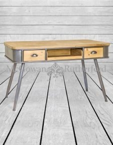 Shoreditch Metal and Wood Desk/Console Table