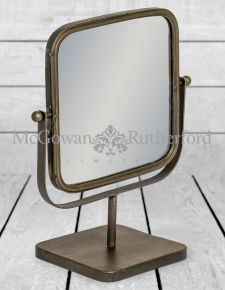 Industrial Adjustable Table Mirror