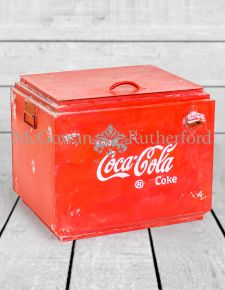 Upcycled Cola Storage Box with Bottle Opener