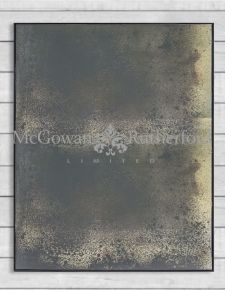 Antiqued Glass Single Pane Wall Mirror
